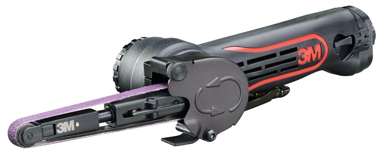 "3Pc 1//2/"" x 18/"" Air Belt Sander Kit with FREE 10Pc ½ x 18 40 Grit Sanding Belt"