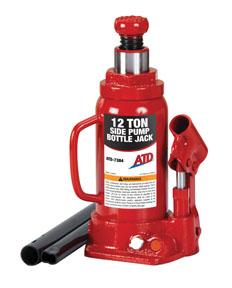 ATD Tools ATD Tools ATD7384 12-Ton Hydraulic Bottle Jack