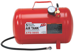 ATD Tools ATD9895 Air Tank 5 Gallon